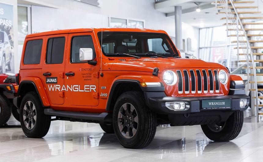 Latvijā ieradies <strong>jaunais Jeep Wrangler!</strong>