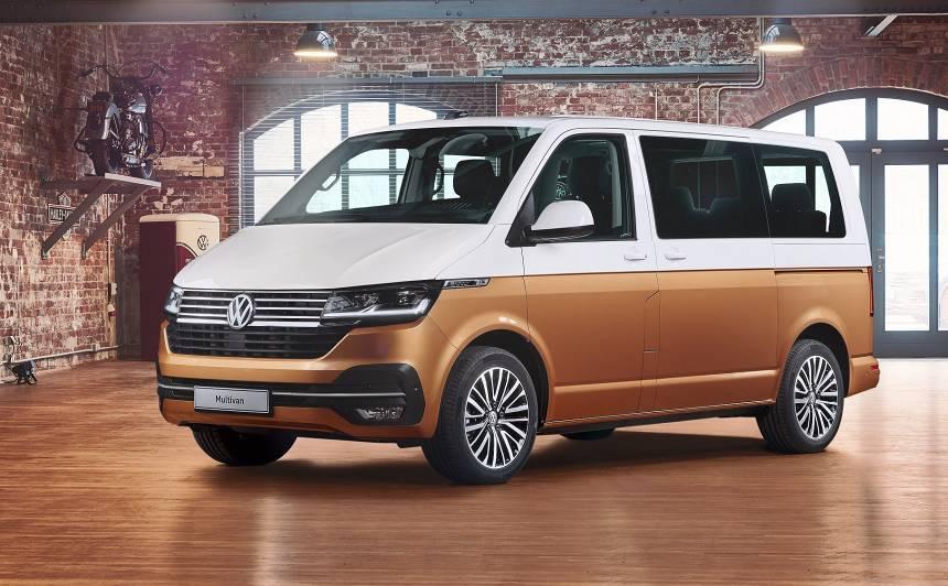 Volkswagen prezentējis atjaunoto <strong>Multivan</strong>