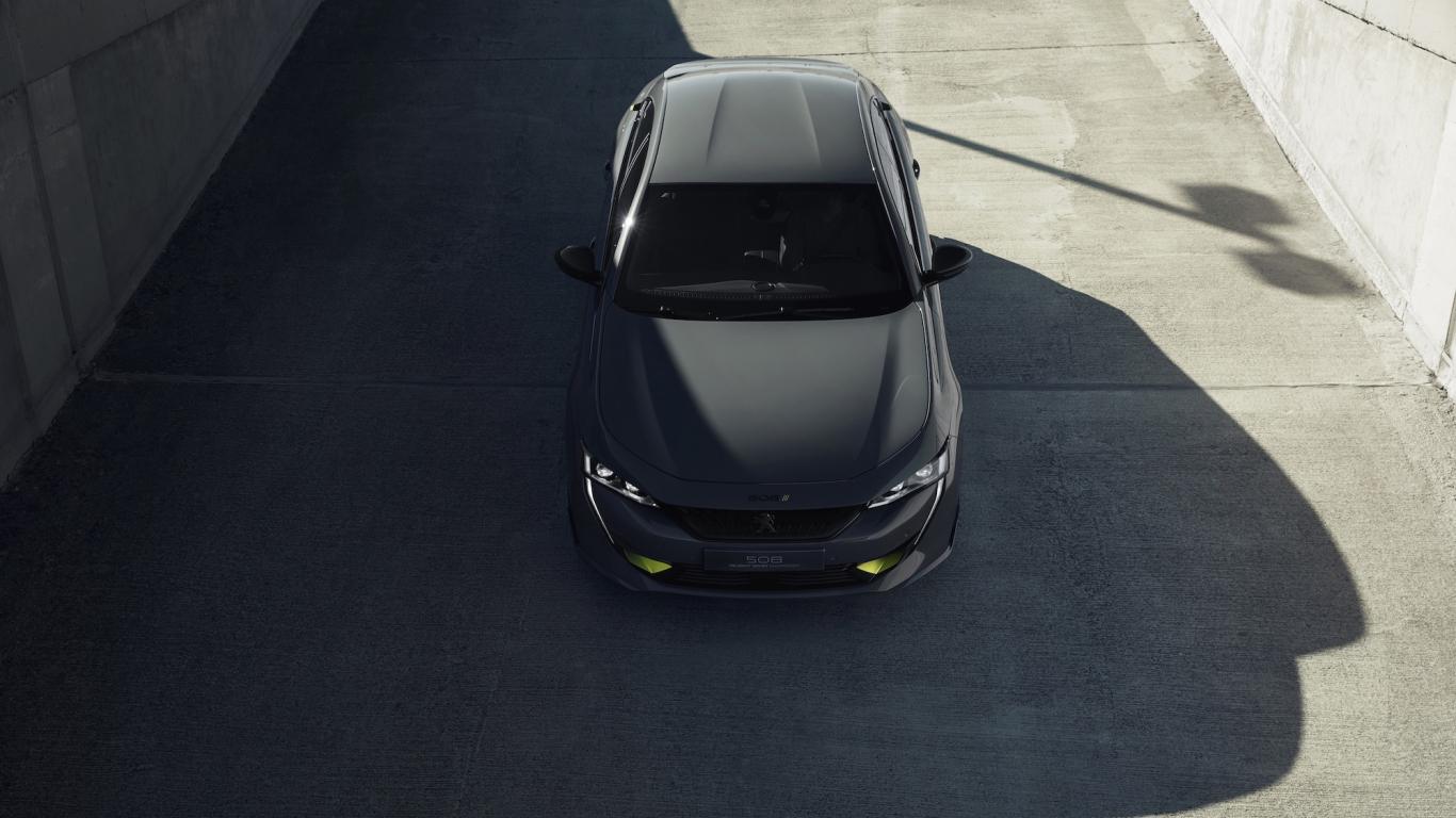 Peugeot prezentē elektrisko konceptauto <strong>Sport Engineered 508</strong>