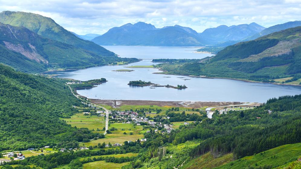 Loch Leven Skotijā