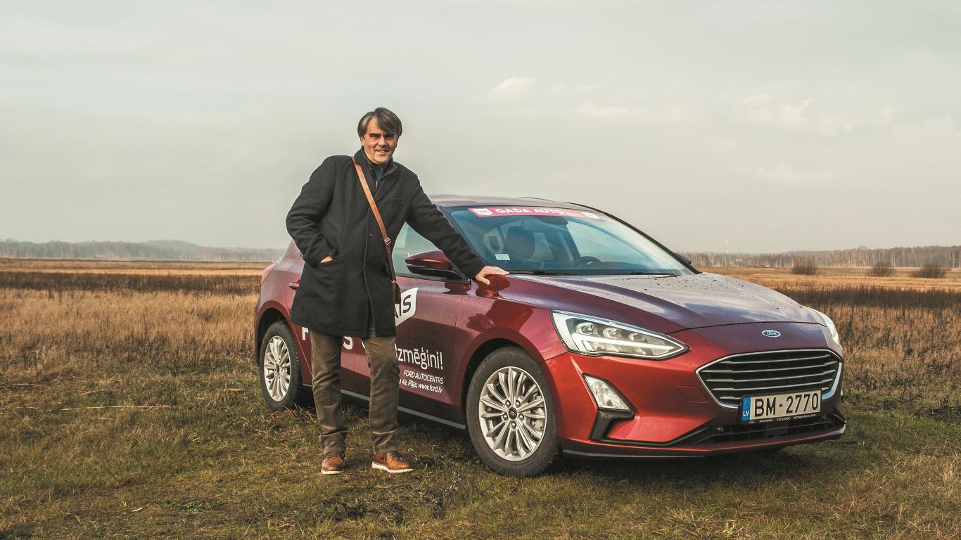 Auto Bild tandēms: <strong>Ainars Mielavs</strong> testē jauno Ford Focus!