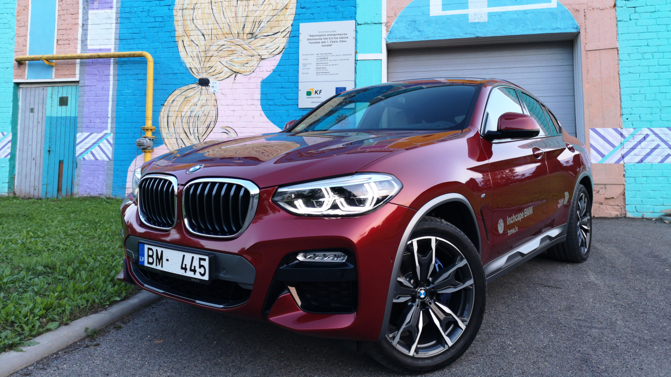 <strong>BMW X4</strong> pirmais testa brauciens<br />