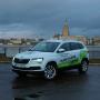 <strong><em>Škoda Karoq</em></strong> pirmais testa brauciens