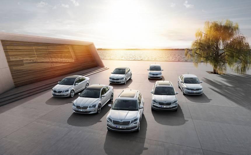 Škoda 2018. gadā sasniedz <strong>rekordaugstus</strong> pārdošanas rādītājus