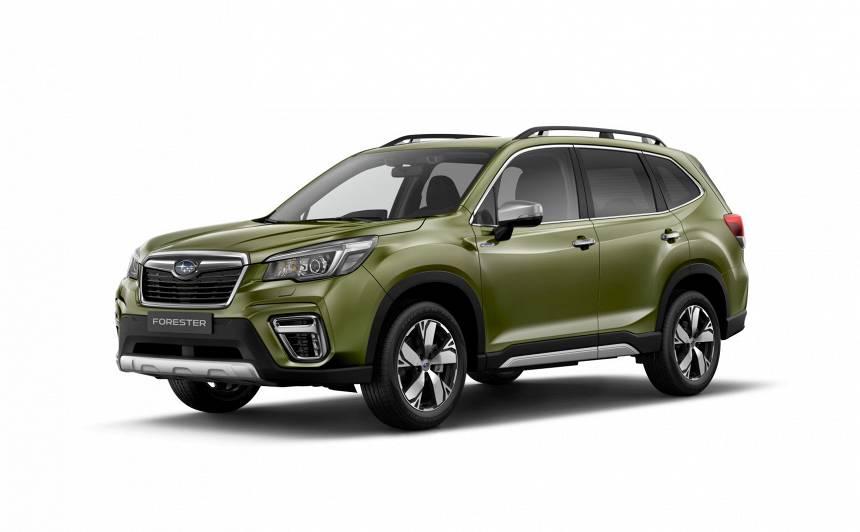 Ženēvā atklāts <strong>jaunais Subaru Forester</strong>