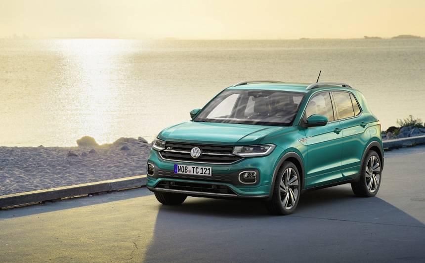 Latvijā uzsākta <strong>Volkswagen T-Cross</strong> tirdzniecība