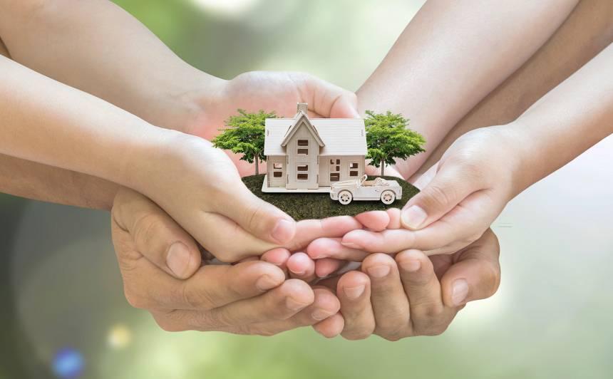 Kā visizdevīgāk <strong>apdrošināt māju?</strong>