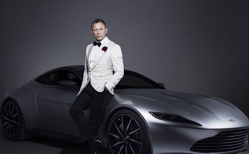 Džeimsam Bondam būs <strong>elektrisks Aston Martin!</strong>