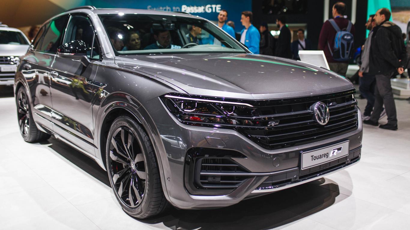 Pasaules pirmizrāde <strong>jaudīgākajam Volkswagen — </strong> Touareg V8 TDI
