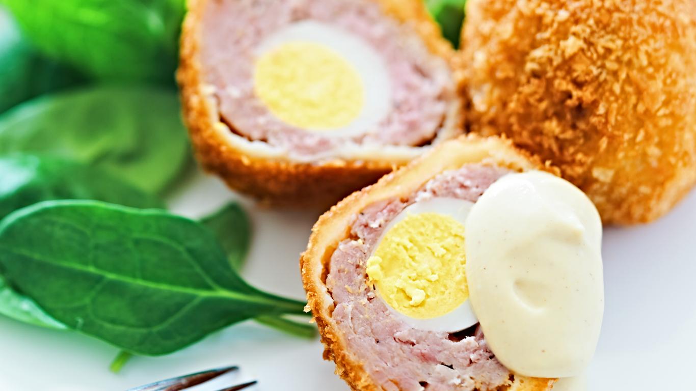 Kraukšķīgās paipalu olas <strong>skotu gaumē</strong>