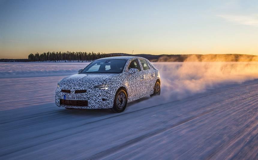 VIDEO: <strong>Jaunais Opel Corsa</strong> aizvada skarbus testus polārajā lokā