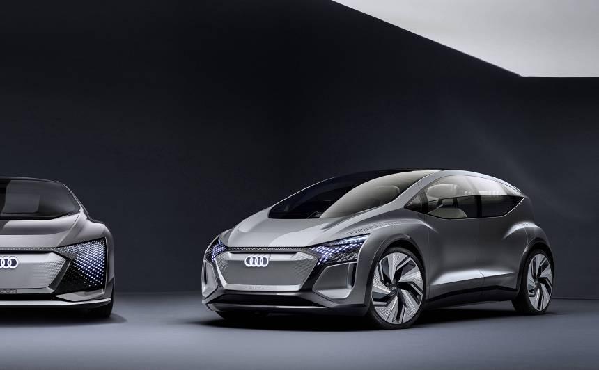 Šanhajas autoizstādē Audi prezentē konceptauto <strong>Audi AI:ME</strong>