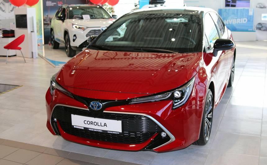 Katrs trešais no pārdotajiem <strong>Toyota ir hibrīds!</strong>