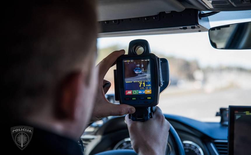 Ceļu policijai jauni radari ar <strong>video funkciju!</strong>