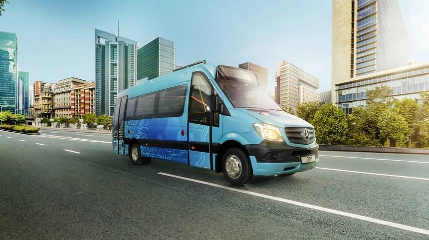 <em>Auto 2019</em> izstādē varēs apskatīt Andra Dambja <strong>elektrisko pilsētas mikroautobusu <em>OPP</em></strong>
