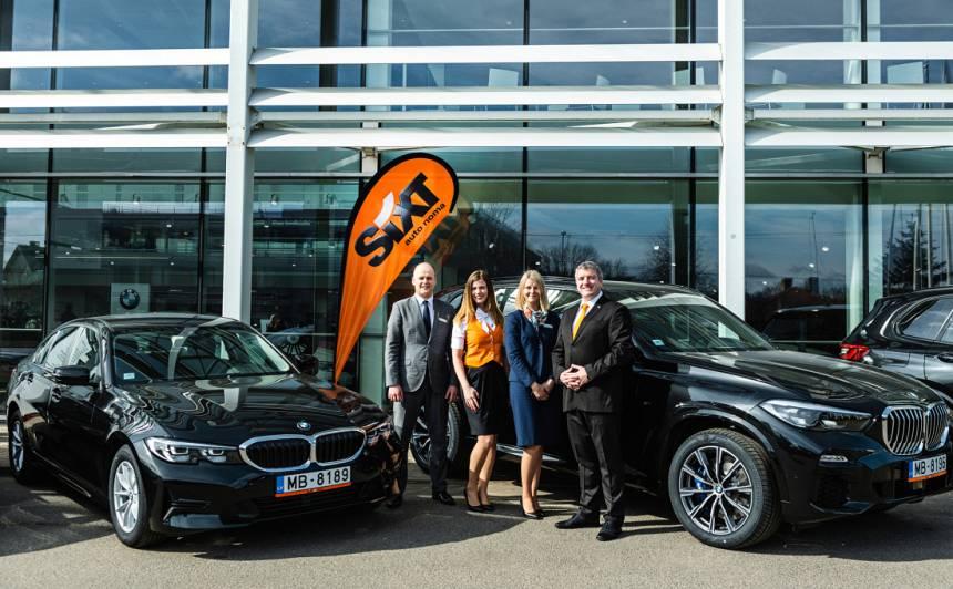 <em>Sixt</em> auto noma papildina klāstu ar jauniem <strong>BMW X5 un 3. sērijas modeļiem</strong>