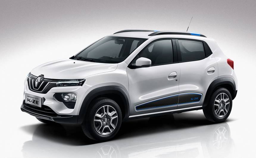 Pasaules pirmizrāde — jaunais <strong>Renault City K-ZE</strong> elektroauto