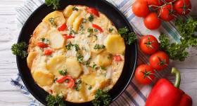 <strong>Mārtiņa Sirmā</strong> Otro Lieldienu rīta omlete spāņu gaumē