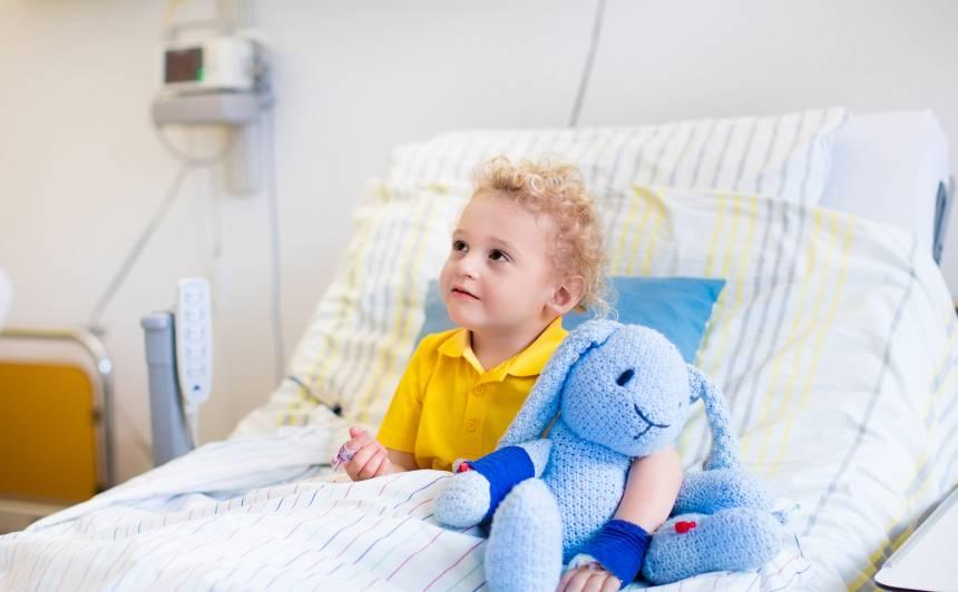 Kas jāzina pirms došanās <strong>uz slimnīcu ar bērnu</strong>