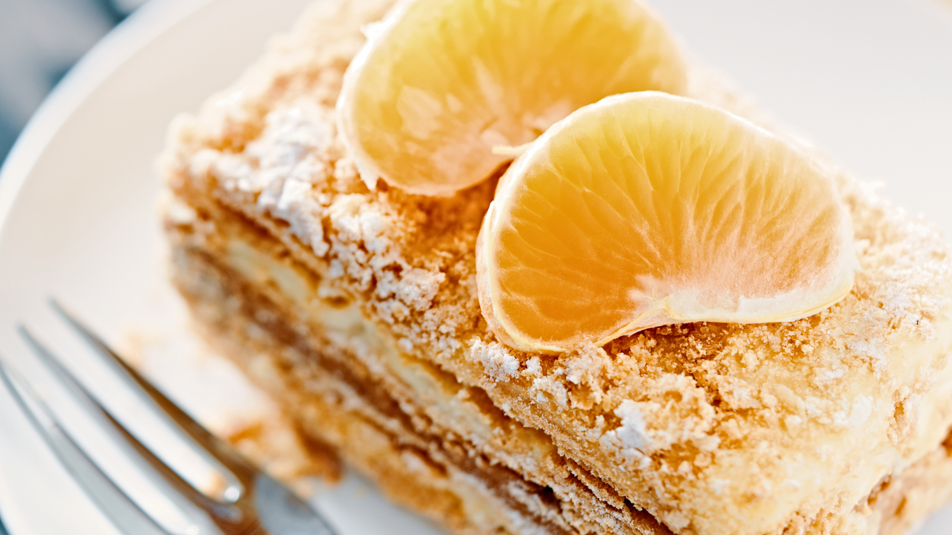 Neatvairāmā un gardā <strong>Napoleona kūka</strong>