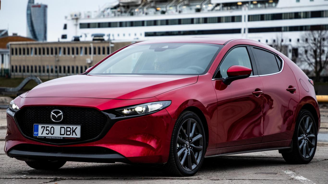 Jaunā Mazda3 iegūst <strong>prestižo <em>Red Dot Award</em></strong> apbalvojumu