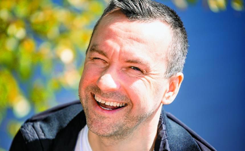 <strong>Kaspars Roga:</strong> «Mani bērni ir labākie antidepresanti»