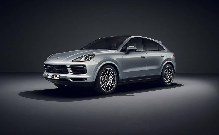 <em>Porsche</em> prezentējis 440 ZS jaudīgo <strong><em>Cayenne S Coupé</em></strong>