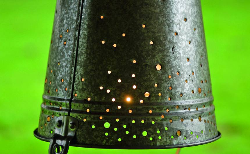 <strong>Spainis</strong> var būt lieliska lampa!