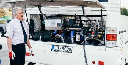 Jēkabpilī autobusi izmantos <strong><em>CNG</em> saspiestās gāzes iekārtas</strong>