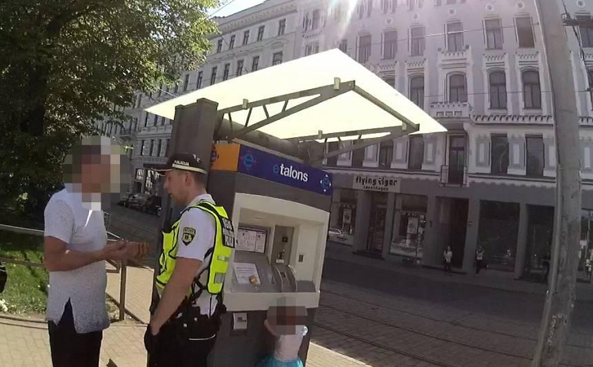 Rīgā aizturēts kāds bērna pieskatītājs <strong>3,48 promiļu reibumā</strong>