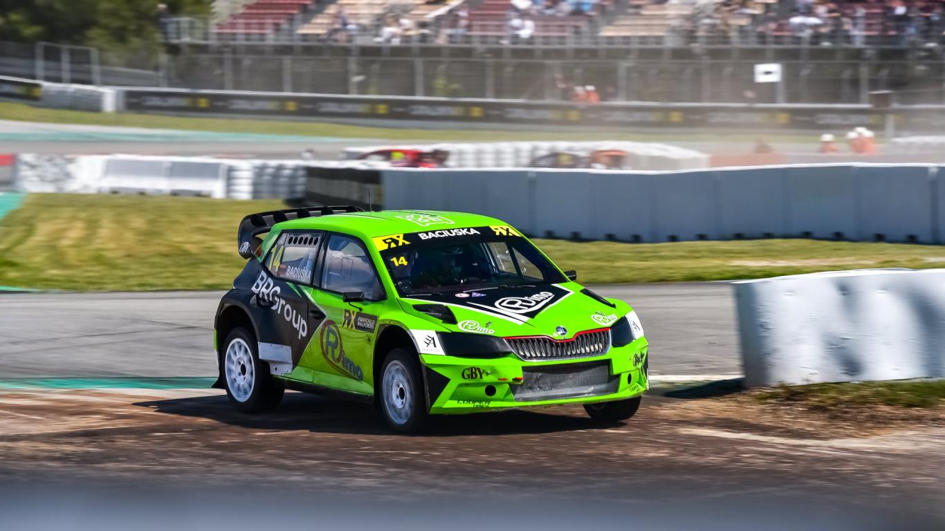 Īsi pirms <em>WorldRX</em> Beļģijas posma <em>ES motorsport</em> komanda <strong>atlaiž lietuviešu pilotu Bacjušku</strong>