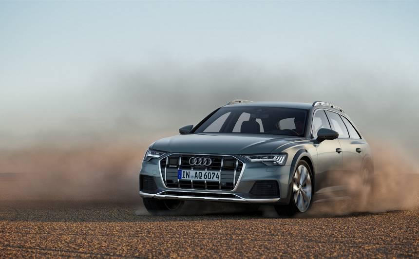 Modeļa 20. gadadienā Audi atklājis jauno <strong><em>A6 allroad quattro</em></strong>