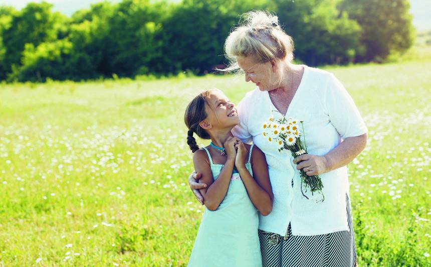 Vasara <strong>pie vecmāmiņas</strong>