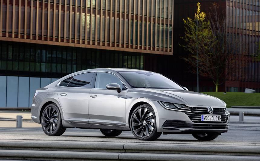 <em>Volkswagen</em> Latvijā <strong>pirmo reizi</strong> piedāvās <em>Arteon Elegance</em>