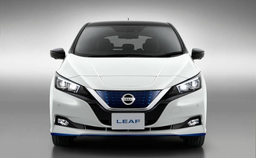 <em>Nissan</em> sācis piedāvāt jauno <em>LEAF e+</em>, kas var <strong>nobraukt lielāku attālumu</strong>