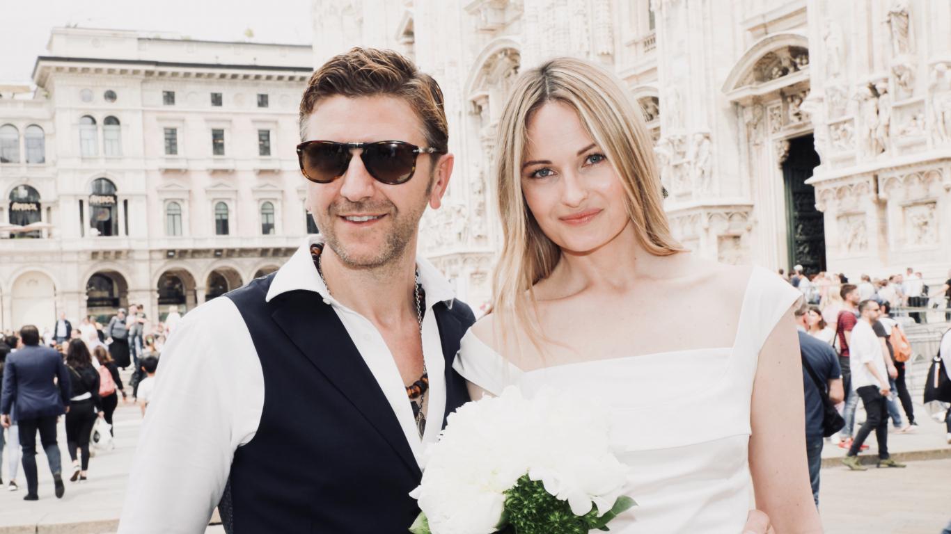 <strong>Kiviča bijusī sieva</strong> apprecas Milānā