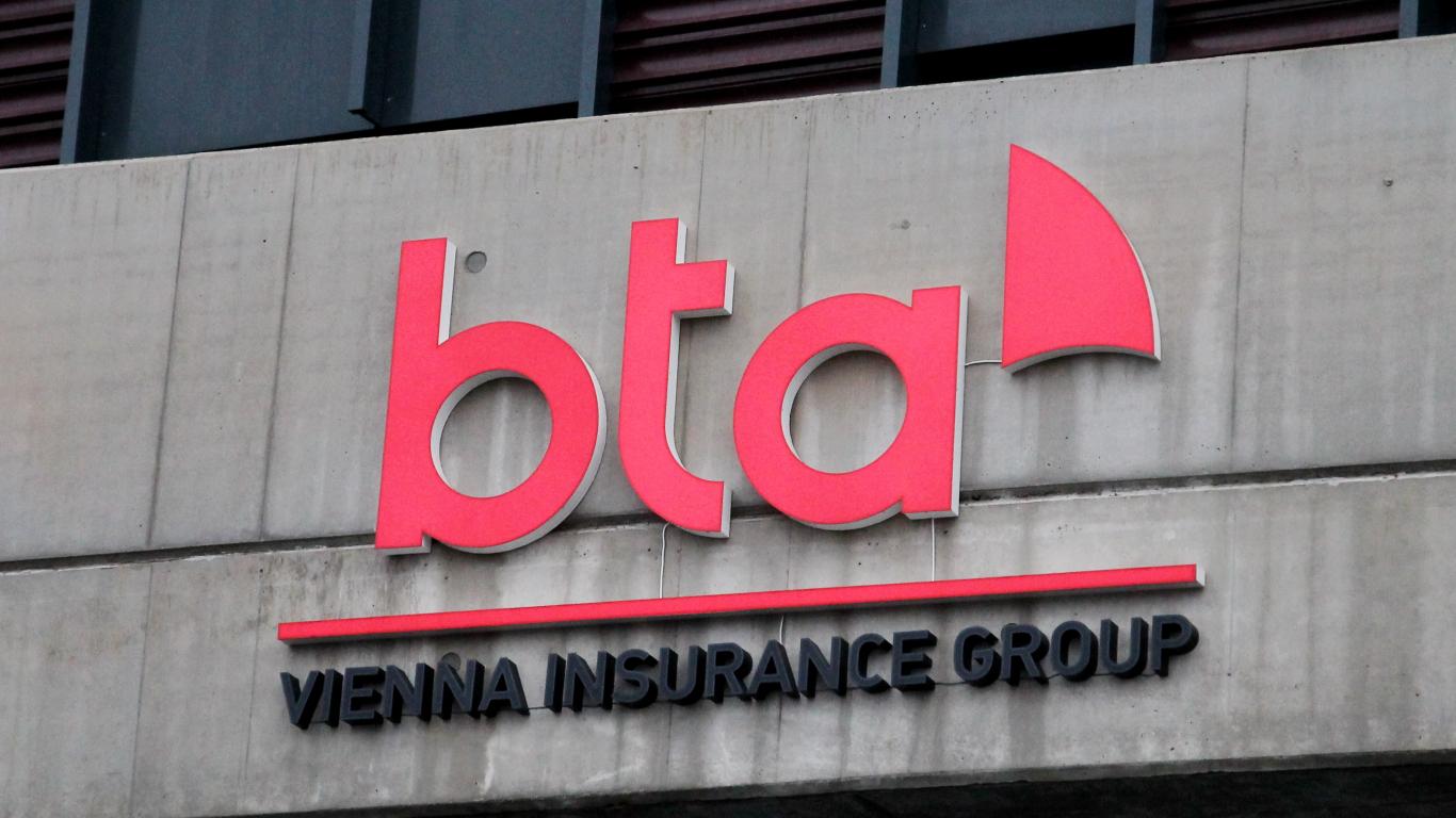 Apdrošinātāja BTA peļņa pirmajā ceturksnī — <strong>1,618 miljoni eiro</strong>