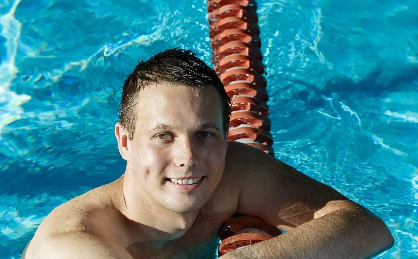 Treneris Gustavs Zālītis: <strong>Iemācot peldēt, varu izglābt vairāk</strong>