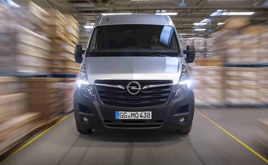 Gatavs <strong>smagam darbam</strong> — <em>Opel</em> prezentē jauno <em>Movano</em>