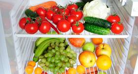 Kā <strong>pareizi uzglabāt dārzeņus un augļus </strong> ledusskapī