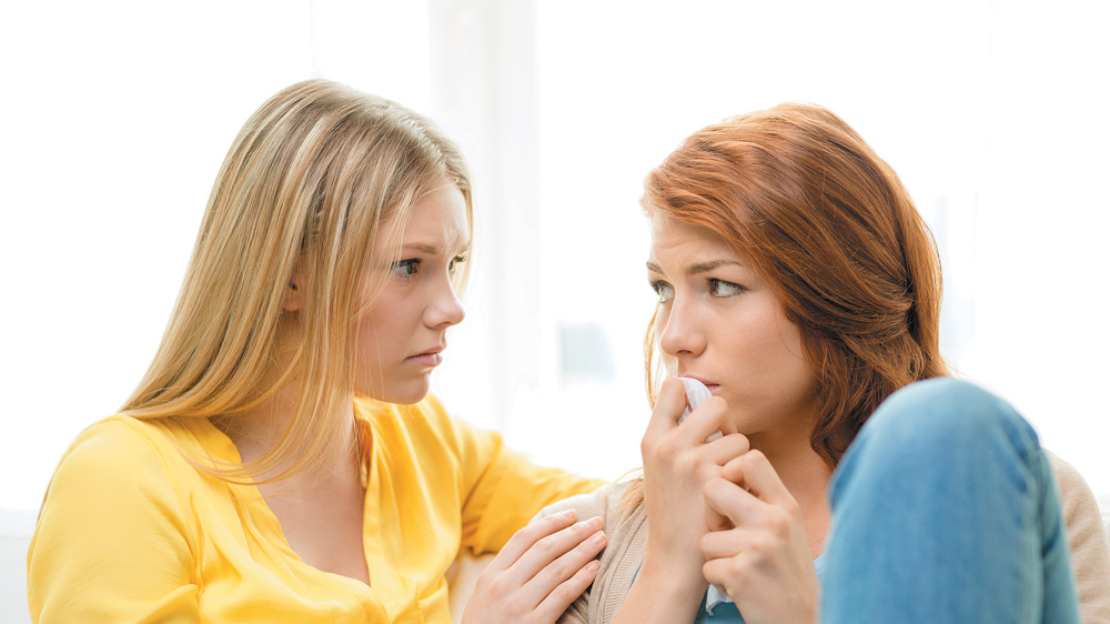 Vai draudzene var būt <strong>psihoterapeita vietā?</strong>