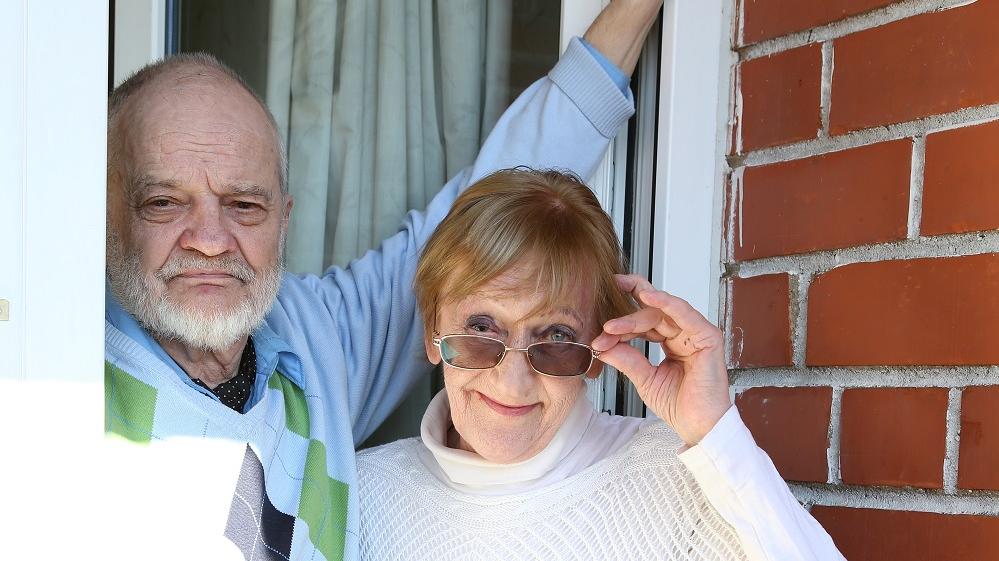 <strong>Mūziķis un aktrise.</strong> Anda Zaice un Ivars Davidovičs