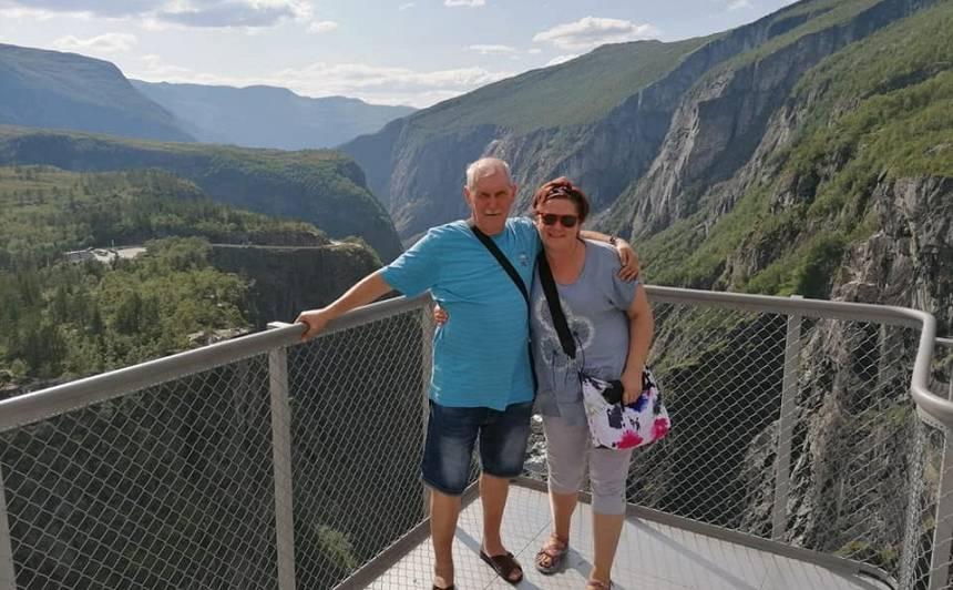 <em>Duets Sandra</em> solists <strong>Andris Brīnums Norvēģijā piedzīvo kataklizmu</strong>