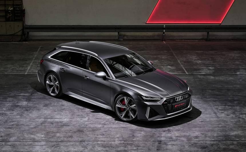 FOTO: Debitējis jaunais <strong><em>Audi RS6 Avant</em> ar 600 ZS V8</strong>