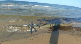 Igaunijas piekrastē <strong>atrasts pazudušā ceļotāja Aiga Audera kajaks</strong>