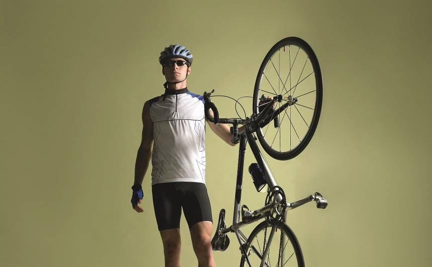 <strong>Uz velosipēda bez treniņiem</strong> — cik tas ir bīstami?