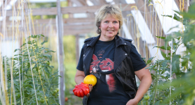 <strong>Smagais roks</strong> ar tomātiem