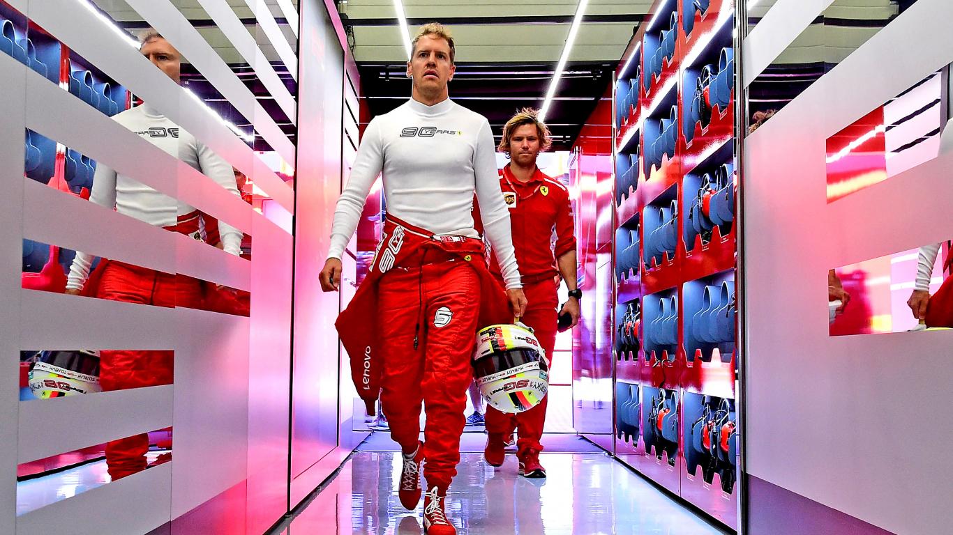 Fetels <strong>nav apmierināts ar F1 sezonas pirmo pusi</strong>