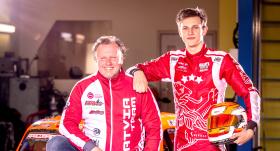 Autosportists Valters Zviedris: <strong>Lai kā es cienītu tēvu, dažreiz man jāpasaka skarbā patiesība</strong>