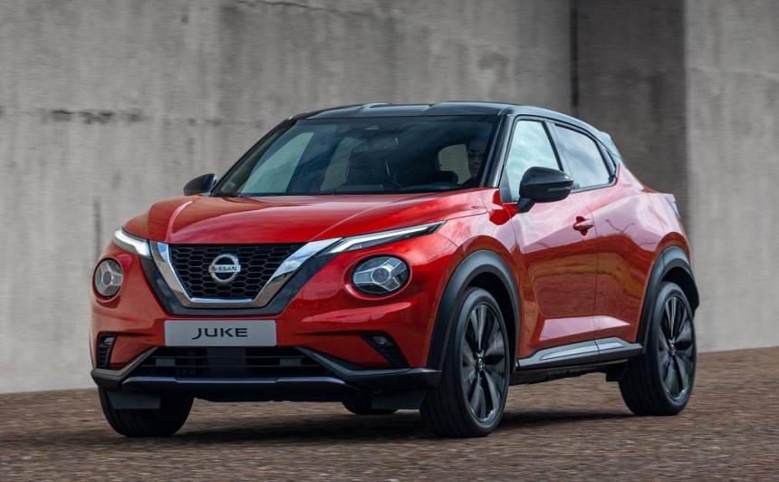 FOTO: <em>Nissan</em> atklāj <strong>jauno <em>Juke</em> krosoveru</strong>